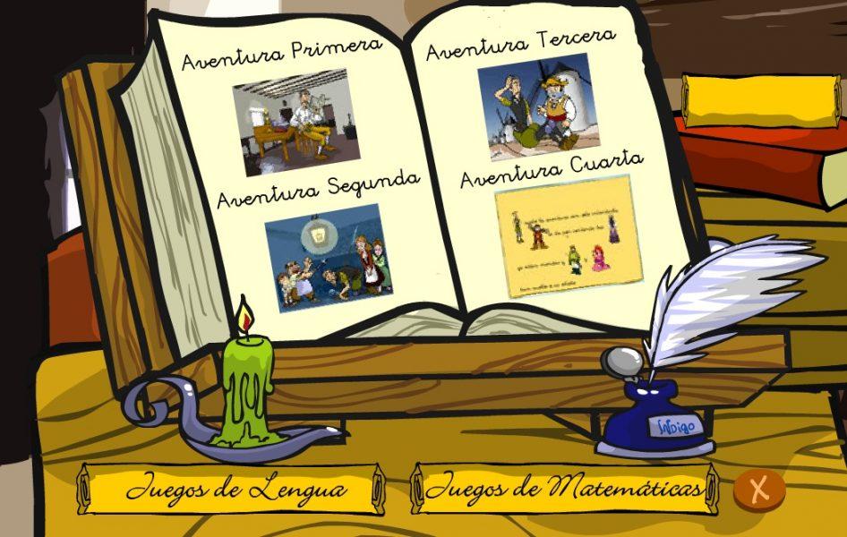 Don quijote juego - aprender a leer